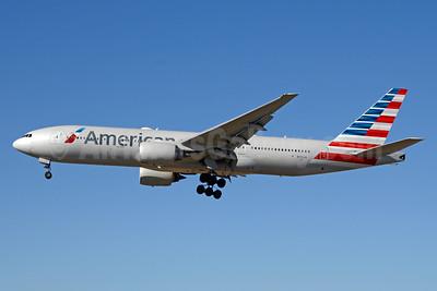 American Airlines Boeing 777-223 ER N773AN (msn 29583) LAX (Jay Selman). Image: 403664.