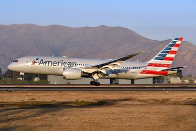 American Airlines Boeing 787-8 Dreamliner N804AN (msn 40622) SCL (Ken Petersen). Image: 947892.
