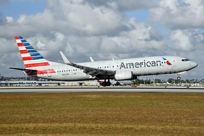 American Airlines Boeing 737-823 WL N867NN (msn 40762) MIA (Bruce Drum). Image: 104627.