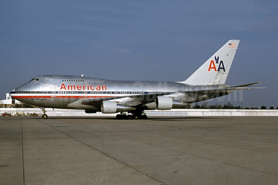 American Airlines Boeing 747SP-31 N601AA (msn 21962) (747 LuxuryLiner) JFK (Fred Freketic). Image: 945593.