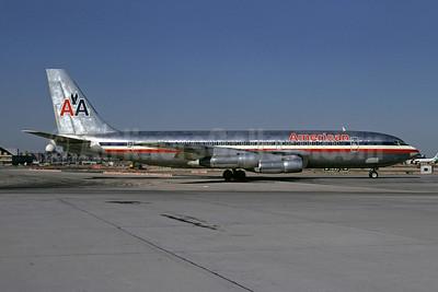 American Airlines Boeing 707-123B N7581A (msn 19331) JFK (Bruce Drum). Image: 102158.