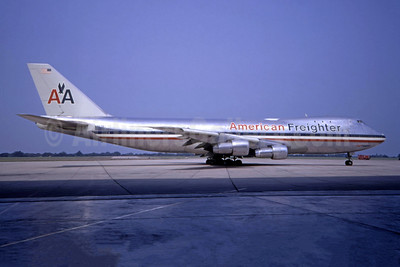 American Airlines Freighter Boeing 747-123 (F) N9676 (msn 20391) TUL (Ted J. Gibson). Image: 944316.