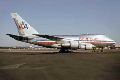 American Airlines Boeing 747SP-31 N602AA (msn 21963) (747 LuxuryLiner) JFK (Fred Freketic). Image: 945594.