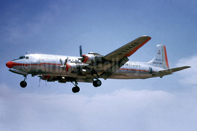 American Airlines Air Freight Douglas DC-7B (F) N344AA (msn 45397) (Jacques Guillem Collection). Image: 927567.