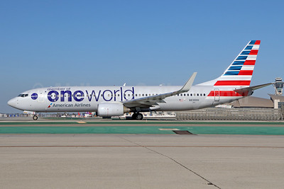American Airlines Boeing 737-823 WL N838NN (msn 31097) (Oneworld) LAX. Image: 933804.