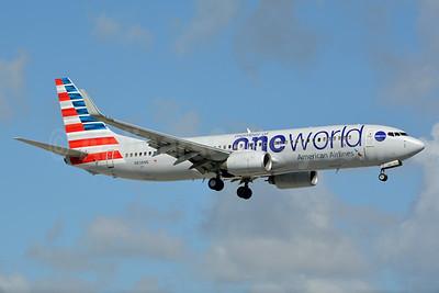 American Airlines Boeing 737-823 WL N838NN (msn 31097) (Oneworld) MIA (Jay Selman). Image: 403099.