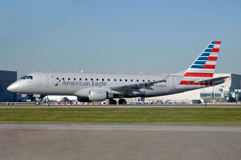 American Eagle Airlines (2nd)-Republic Airlines (2nd) Embraer ERJ 170-200LR (ERJ 175) N405YX (msn 17000368) YYZ (TMK Photography). Image: 913742.