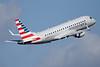 American Eagle Airlines (2nd)-Republic Airlines (2nd) Embraer ERJ 170-200LR (ERJ 175) N406YX (msn 17000369) MIA (Bruce Drum). Image: 104372.