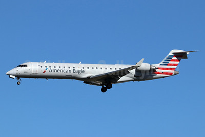 American Eagle Airlines (2nd)-SkyWest Airlines Bombardier CRJ700 (CL-600-2C10) N710SK (msn 10170) LAX (Michael B. Ing). Image: 946297.