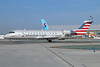 Bombardier CRJ200 in the new American Eagle livery