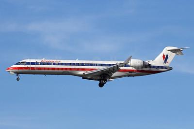 American Eagle Airlines (2nd) Bombardier CRJ700 (CL-600-2C10) N545PB (msn 10325) LAX (Michael B. Ing). Image: 912012.