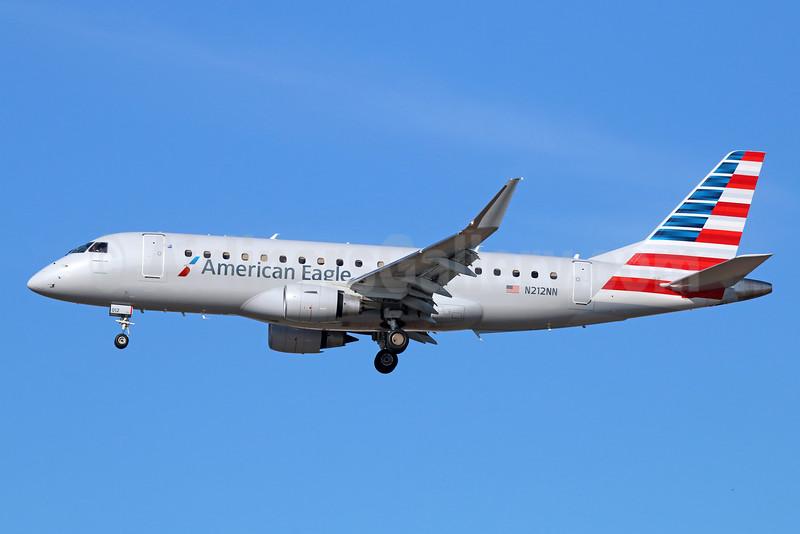 American Eagle Airlines (2nd)-Republic Airlines (2nd) Embraer ERJ 170-200LR (ERJ 175) N212NN (msn 17000504) LAX (Michael B. Ing). Image: 931039.