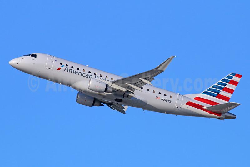 American Eagle Airlines (2nd)-Republic Airlines (2nd) Embraer ERJ 170-200LR (ERJ 175) N219NN (msn 17000522) LAX (Michael B. Ing). Image: 931042.