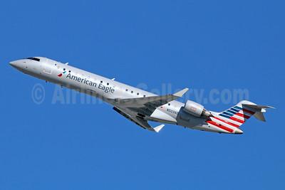 American Eagle (2nd)-Envoy Bombardier CRJ700 (CL-600-2C10) N503AE (msn 10021) LAX (Michael B. Ing). Image: 929282.