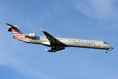 American Eagle Airlines (2nd)-Mesa Airlines Bombardier CRJ900 (CL-600-2D24) N943LR (msn 15068) CLT (Jay Selman). Image: 403793.