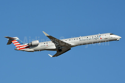 American Eagle (2nd)-PSA Airlines (2nd) Bombardier CRJ900 (CL-600-2D24) N580NN (msn 15383) CLT (Jay Selman). Image: 403065.