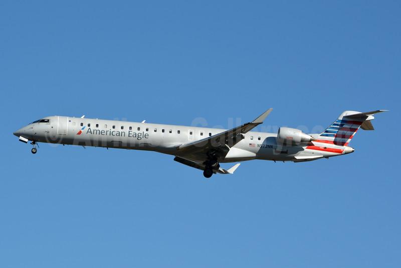 American Eagle (2nd)-PSA Airlines (2nd) Bombardier CRJ900 (CL-600-2D24) N572NN (msn 15361) CLT (Jay Selman). Image: 402948.