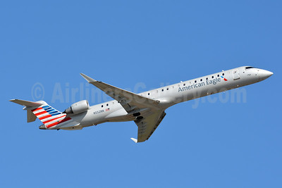 American Eagle (2nd)-PSA Airlines (2nd) Bombardier CRJ900 (CL-600-2D24) N552NN (msn 15328) CLT (Jay Selman). Image: 403055.