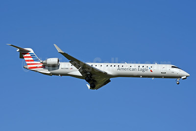 American Eagle (2nd)-PSA Airlines (2nd) Bombardier CRJ900 (CL-600-2D24) N604NN (msn 15465) CLT (Jay Selman). Image: 403985.