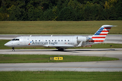 American Eagle (2nd)-PSA Airlines (2nd) Bombardier CRJ200 (CL-600-2B19) N245PS (msn 7919) RDU (Ton Jochems). Image: 942052.