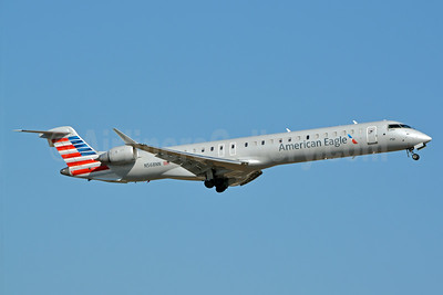 American Eagle (2nd)-PSA Airlines (2nd) Bombardier CRJ900 (CL-600-2D24) N568NN (msn 15355) CLT (Jay Selman). Image: 403061.