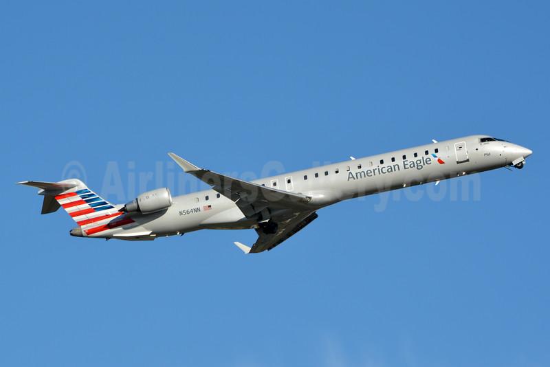 American Eagle (2nd)-PSA Airlines (2nd) Bombardier CRJ900 (CL-600-2D24) N564NN (msn 15351) CLT (Jay Selman). Image: 402833.