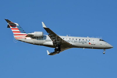 American Eagle (2nd)-PSA Airlines (2nd) Bombardier CRJ200 (CL-600-2B19) N241PS (msn 7909) CLT (Jay Selman). Image: 403750.