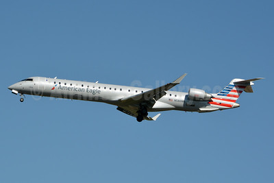 American Eagle (2nd)-PSA Airlines (2nd) Bombardier CRJ900 (CL-600-2D24) N586NN (msn 15389) CLT (Jay Selman). Image: 403068.