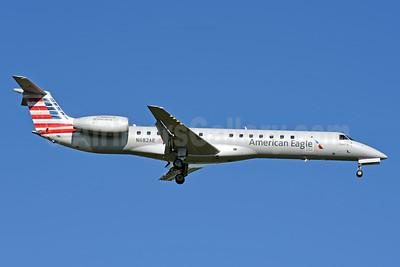 American Eagle (2nd)-Piedmont Airlines (2nd) Embraer ERJ 145LR N682AE (msn 145143) CLT (Jay Selman). Image: 403983.