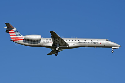 American Eagle (2nd)-Piedmont Airlines (2nd) Embraer ERJ 145LR N643AE (msn 145200) CLT (Jay Selman). Image: 403980.