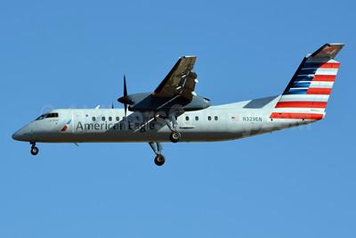 American Eagle (2nd)-Piedmont Airlines (2nd) Bombardier DHC-8-314 Dash 8 (Q300) N329EN (msn 290) CLT (Jay Selman). Image: 402624.