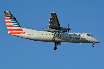 American Eagle (2nd)-Piedmont Airlines (2nd) Bombardier DHC-8-311 Dash 8 (Q300) N343EN (msn 340) CLT (Jay Selman). Image: 403771.