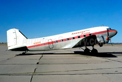 American Flyers Airline Douglas C-53-DO (DC-3) N19919 (msn 4869) ADM (Ted J. Gibson - Jacques Guillem Collection). Image: 945425.