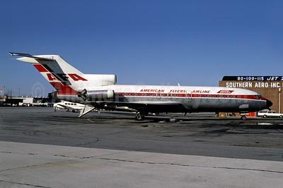 American Flyers Airline-AFA Boeing 727-185C N12826 (msn 19826) ATL (Bruce Drum). Image: 102560.
