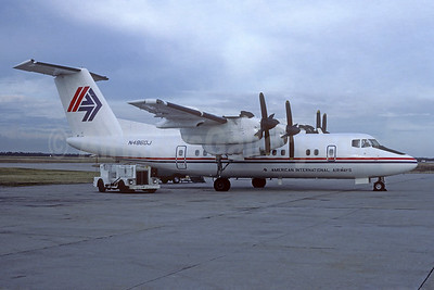 American International Airways (2nd) de Havilland Canada DHC-7-102 Dash 7 N4860J (msn 19) ACY (Jacques Guillem Collection). Image: 939444.