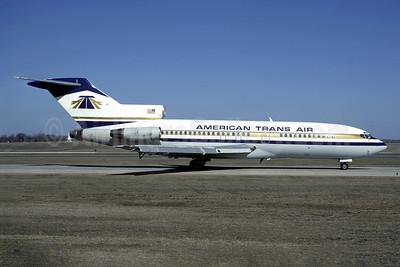 American Trans Air-ATA Boeing 727-51 N160FN (msn 18942) MSP (Dan Poitras - Christian Volpati Collection). Image: 950474.