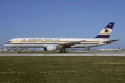 American Trans Air-ATA Boeing 757-2Q8 N755AT (msn 24965) FLL (Christian Volpati). Image: 950476.
