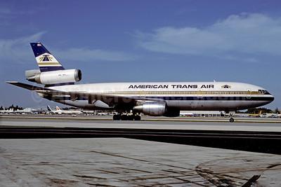 American Trans Air-ATA McDonnell Douglas DC-10-10 N183AT (msn 46501) MIA (Bruce Drum). Image: 102557.