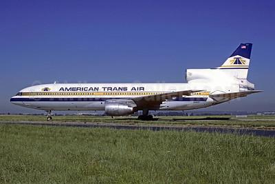 American Trans Air-ATA Lockheed L-1011-385-1 TriStar 50 N190AT (msn 1086) ORY (Jacques Guillem). Image: 909553.