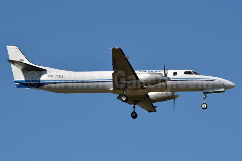 Ameriflight Swearingen Fairchild SA227-AT Metro III Expediter N573G (msn AT-446B) CLT (Jay Selman). Image: 937101.