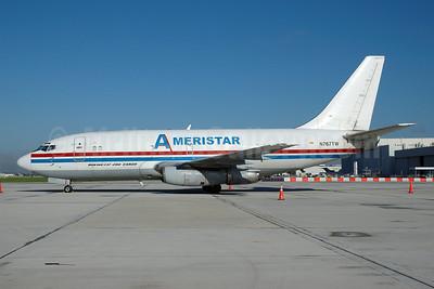Ameristar Air Cargo Boeing 737-230C N767TW (msn 20258) MIA (Bruce Drum). Image: 100502.