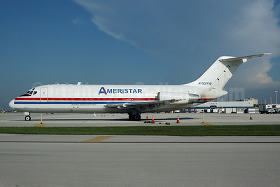 Ameristar Air Cargo McDonnell Douglas DC-9-15F N785TW (msn 47015) MIA (Bruce Drum). Image: 100501.