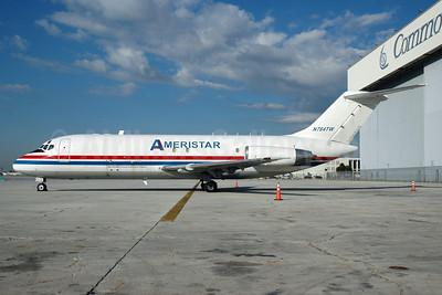 Ameristar Air Cargo McDonnell Douglas DC-9-15F N784TW (msn 47014) MIA (Bruce Drum). Image: 100372.
