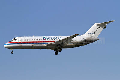 Ameristar Air Cargo McDonnell Douglas DC-9-15F N783TW (msn 47010) LAX (James Helbock). Image: 909559.