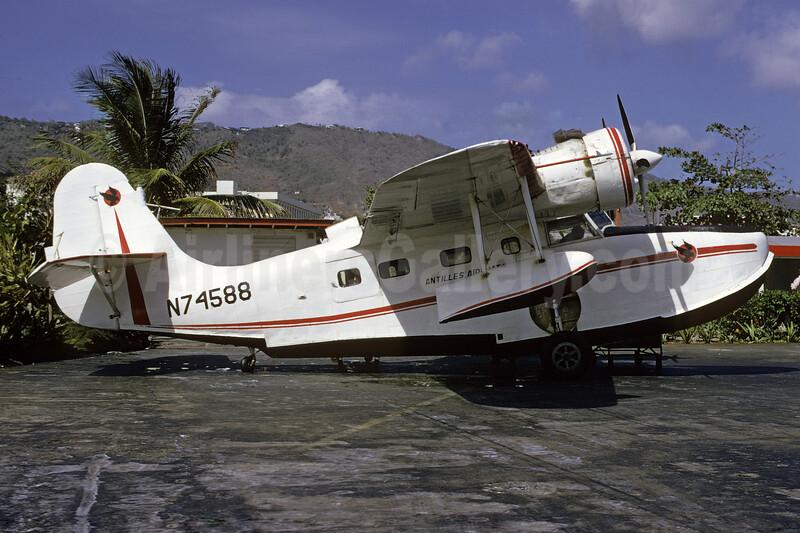 Antilles Air Boats Grumman G-21A Goose N74588 (msn 1165) STT (Bruce Drum). Image: 103649.