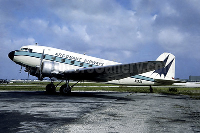 Argonaut Airways Douglas C-47A-DL (DC-3) N153A (msn 9392) MIA (Christian Volpati Collection). Image: 946336.