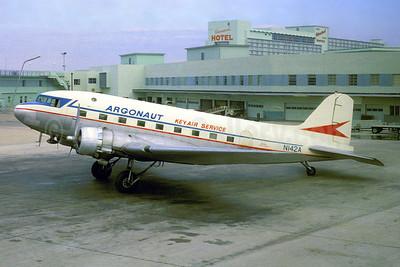Argonaut Airways -KeyAir Service Douglas C-47A-DK (DC-3) N142A (msn 12789) (Allegheny colors) MIA (Jacques Guillem Collection). Image: 904641.