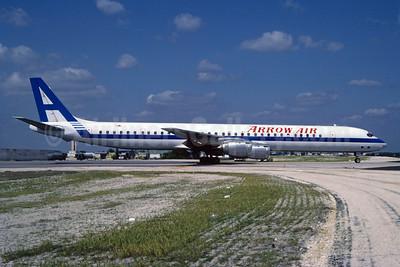 Arrow Air (2nd) McDonnell Douglas DC-8-73CF N919CL (msn 46106) MIA (Bruce Drum). Image: 102570.