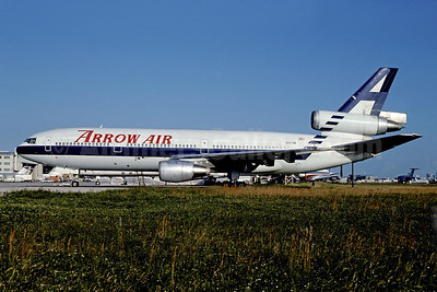 Arrow Air (2nd) McDonnell Douglas DC-10-10 N917JW (msn 46727) MIA (Bruce Drum). Image: 102567.