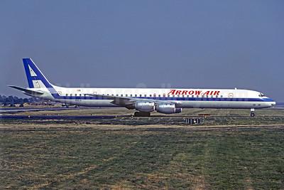 Arrow Air (2nd) McDonnell Douglas DC-8-73CF N919JW (msn 46106)  LGW (Christian Volpati Collection). Image: 920178.